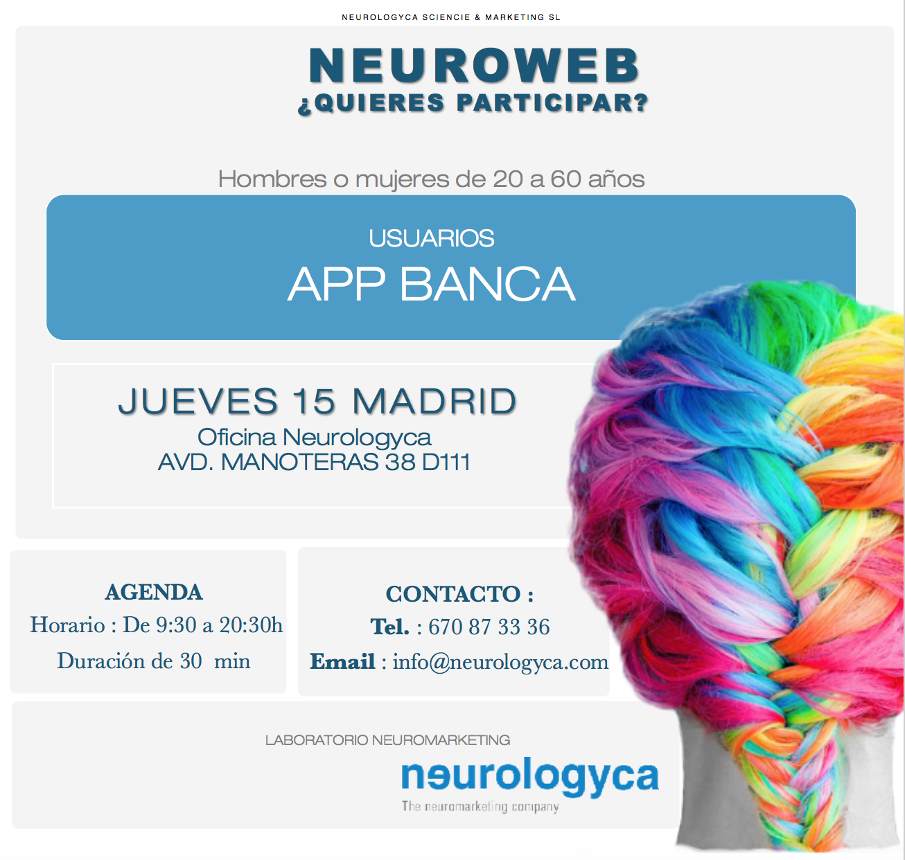 NEURMARKETING APP BANCA