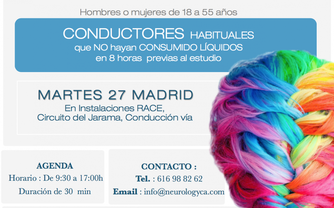 Convocatoria estudio neuromarketing CONDUCTORES HABITUALES