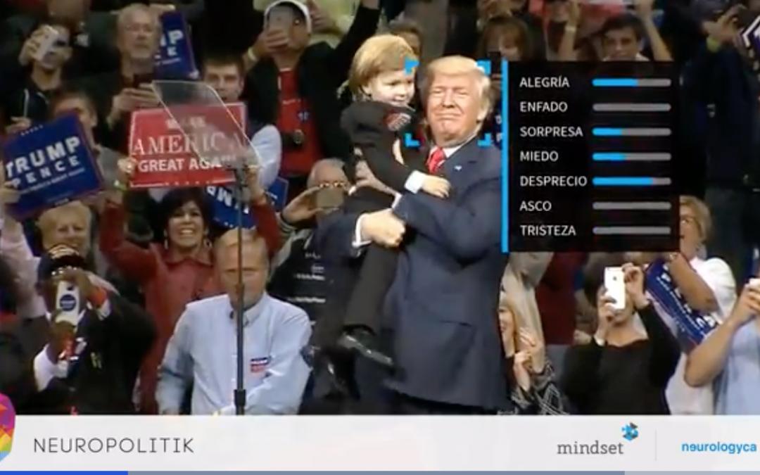 Análisis neurocientífico de los discursos politicos de Trump por Neurologyca.