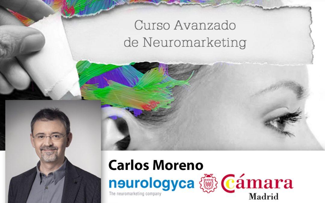 Curso Neuromarketing Experto. Ponente Carlos Moreno