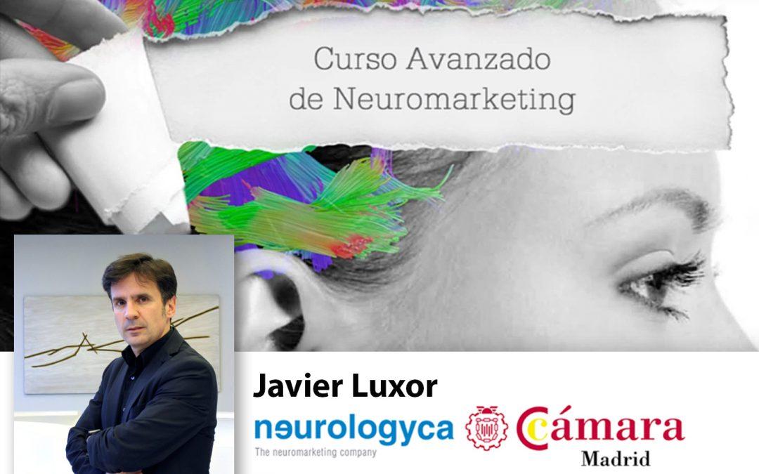 Curso Neuromarketing Experto. Profesor Javier Luxor.