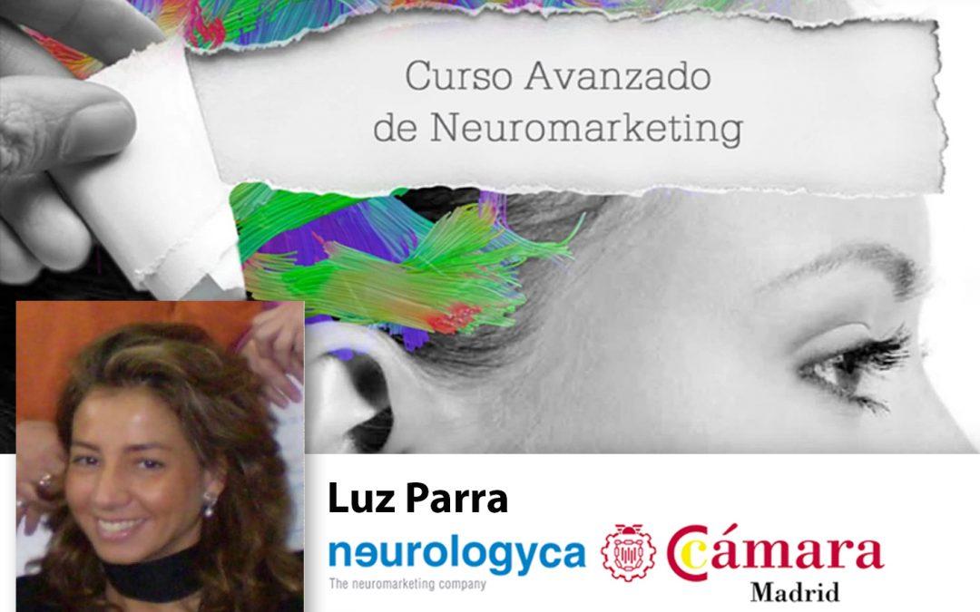 Curso Neuromarketing Experto. Profesor Luz Parra